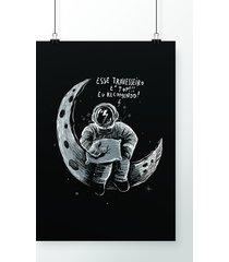 poster travesseiro espacial
