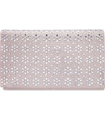 nina araminta crystal flower embellished clutch