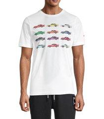 puma men's statement crewneck t-shirt - white - size xxl