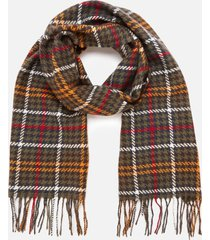 barbour causal women's barmack houndstooth tartan scarf - classic