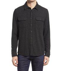men's 7 diamonds dawnbreak button-up shirt, size x-large r - grey