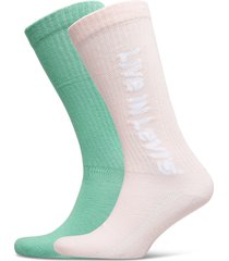 levis vintage cut sprt sock unisex underwear socks regular socks rosa levi´s