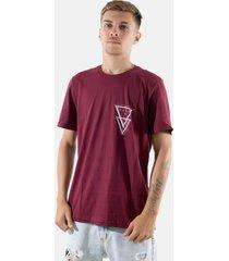 camisa t-shirt rioutlet vinho 237 - branco - masculino - algodã£o - dafiti