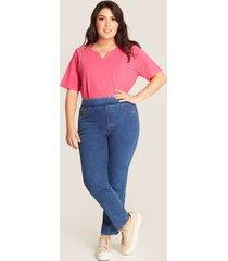 camiseta rosada con brillo rosado 18