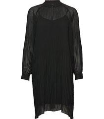 victor dress jurk knielengte zwart modström
