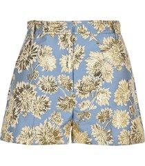 n21 jacquard shorts