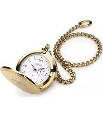 relógio de bolso technos classic 1l45bb4b masculino