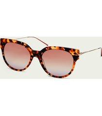 scotch & soda broadway - tortoiseshell acetate sunglasses
