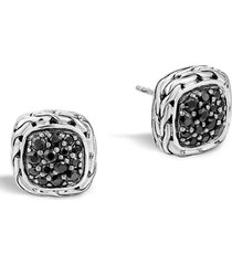 women's john hardy 'classic chain' small square stud earrings