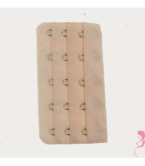 op en top zwanger beha / corset verlenger 5 haaks huidskleur (per stuk)
