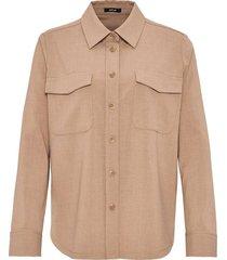 blouse fompa beige
