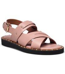 gemma sandal gemma sandal womens shoes shoes summer shoes flat sandals rosa coach