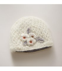 winter bloom hat