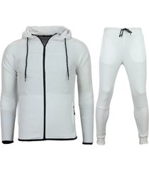 slim fit joggingpak heren - trainingspakken mannen basic- f552