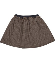 le petit coco patterned skirt