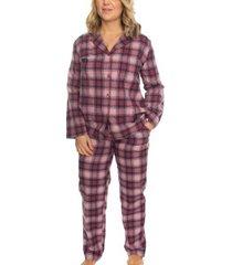 missya check flannel pyjama
