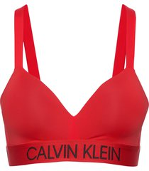 demi bralette - fp bikinitop rood calvin klein