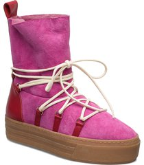gale, 679 winter boots shoes boots ankle boots ankle boot - flat rosa stine goya