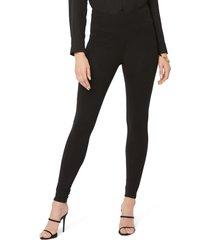 women's nydj sculpt-her(tm) ponte skinny leggings, size medium - black