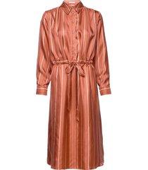 frida dress jurk knielengte oranje lovechild 1979