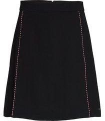 tattiana mini skirt kort kjol svart tommy hilfiger