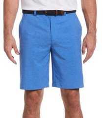 pga tour men's tech fine line printed shorts