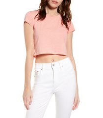 women's sundown by splendid slub jersey crop t-shirt