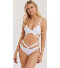 na-kd lingerie trosa brazilian - white
