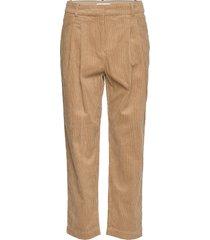 julianna pants 10198 wijde broek beige samsøe & samsøe