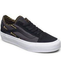 ua old skool gore-tex låga sneakers svart vans