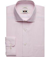 joseph abboud pink gingham dress shirt
