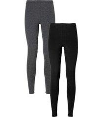 leggings (pacco da 2) (grigio) - bodyflirt