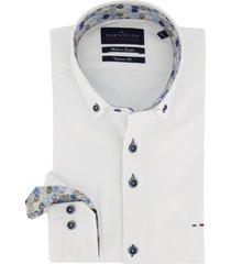 mouwlengte 7 overhemd portofino wit