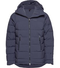 stranda down hybrid jkt outerwear sport jackets blå bergans