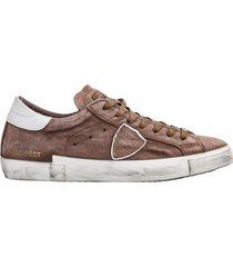 scarpe sneakers uomo in pelle paris