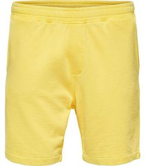 sweat shorts with garment