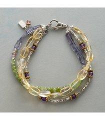 sunlight and sky bracelet