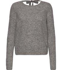 hedvig sweater gebreide trui grijs twist & tango