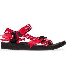 arizona love trekky bandana sandals - red
