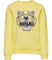 tiger jg 5 sweat-shirt trui geel kenzo