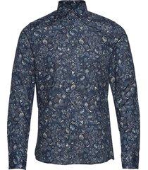 8664 - iver 2 skjorta business blå sand
