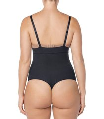 faja body control suave negro leonisa 012730m