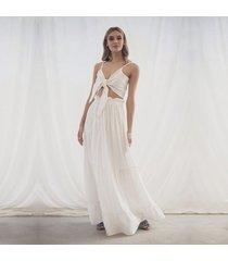 falda amalia blanco
