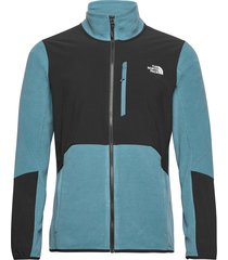 m glacier pro full z sweat-shirts & hoodies fleeces & midlayers blå the north face