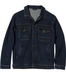 jeansjack uit biologisch katoen, midnight-blue s