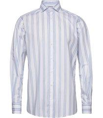 white striped shirt - soft overhemd casual wit eton
