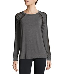 pullover long-sleeve top
