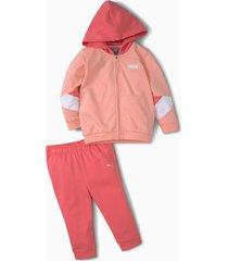 minicats joggingpak met ronde hals baby's, maat 104   puma