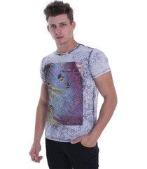 t-shirt osmoze anos 80 010 12645 22 cinza - cinza - m - masculino