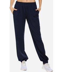 pantalon modern jogger azul marino changes label